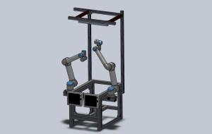 Ensamblaje mesa cirugía SolidWorks